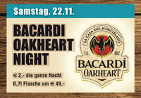 Bacardi Oakheart Night