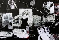 Vernissage: Christa Schebeck - Bilder und Collagen@academy Cafe-Bar