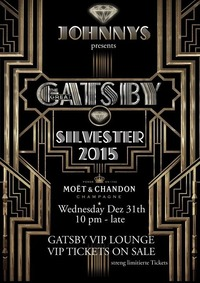 The Great Gatsby - Nye 2014 -  Vip Tickets On Sale@Johnnys - The Castle of Emotions