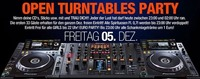 Open Turntables Party@Tollhaus Neumarkt
