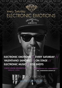 Electronic Emotions mit Valentiano Sanchez@Johnnys - The Castle of Emotions