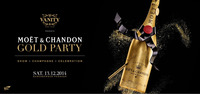 Vanity Moet Gold Party