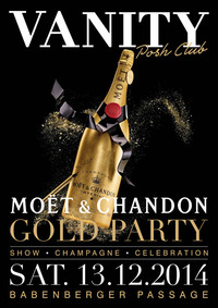 Moët & Chandon Gold Party - The Golden Champagne Night@Babenberger Passage