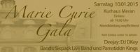 Marie Curie Gala 2015@Kurhaus Meran