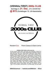 2000s Club - Sunday Edition