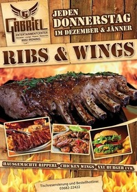 Ribs & Wings   @Gabriel Entertainment Center