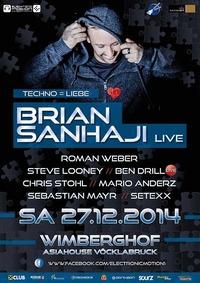 Techno = Liebe feat. Brian Sanhaji live