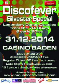 Discofever Silvester Special@Casino Baden