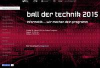 Ball der Technik 2015