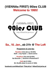 90ies Club: Welcome to 1995!
