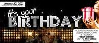 Its your Birthday - Geburtstagskinder Dezember@Brooklyn