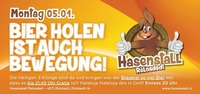 Bier holen ist auch Bewegung@Hasenstall