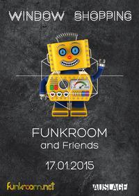 Funkroom@Club Auslage