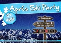 Aprés Ski Party Sipbachzell@Lagerhaus