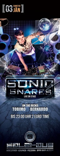 Sonic Snares - Live