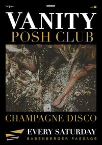Vanity Champagner Disco@Babenberger Passage