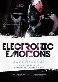 Electronic Emotions mit Valentiano Sanchez johnnysclub@Johnnys - The Castle of Emotions