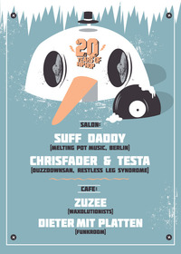 20 Years Special feat. Suff Daddy@Café Leopold