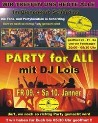 Party for all@Bienenkorb Schärding