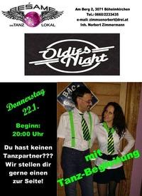 Oldie & Schlager-Abend mit Tanzbegleitung