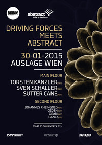 Abstract meets Driving Forces Showcase@Club Auslage
