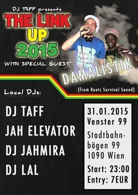 The Link Up 2015 special guest Damalistik