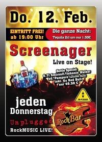 Screenager Live@Excalibur