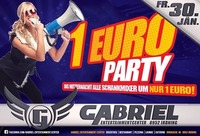 1 Euro PARTY  @Gabriel Entertainment Center