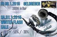 Geldregen & Winter Flash
