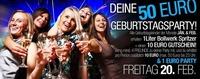 Deine 50-Euro Geburtstagsparty@Bollwerk Liezen