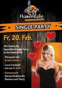 Single Party@Hasenfalle
