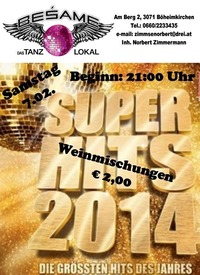Super Hits 2014@Beśame Tanzlokal