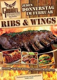 Ribs & Wings   @Gabriel Entertainment Center