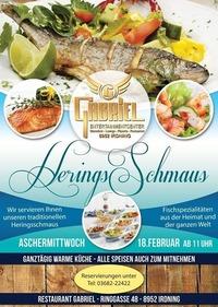 Traditioneller Heringschmaus@Gabriel Entertainment Center
