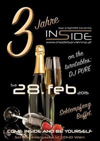 3 Jahre Inside Bar Vienna@Inside Bar