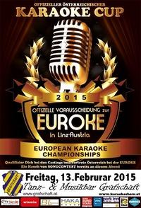 Karaoke - offizielle Vorausscheidung zur Euroke Linz@Grafschaft Henndorf