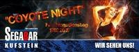 Coyote Night - Faschingsdienstag