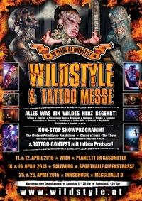 Wildstyle & Tattoo Messe@Gasometer - planet.tt