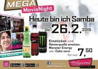 Mega MovieNight: Heute bin ich Samba