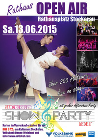 Stockerauer Show & Party Nacht mit Aftershow-Party@Rathausplatz Stockerau
