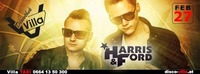 Harris & Ford live in der Disco & Birthdayparty