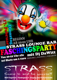 Strass Faschingsparty
