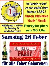 Sebi´s Abschied zum Bund@1-Euro-Bar