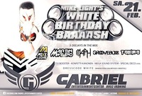Mike Lights White Birthdaybaaash