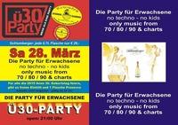 U30-party - die Party für Erwachsene