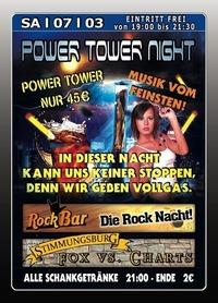 Power Tower Night@Excalibur