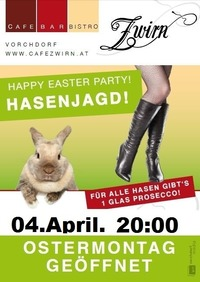 HasenJagd@Cafe Zwirn