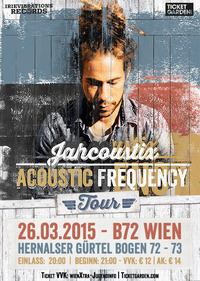 Jahcoustix Acoustic Frequency Tour