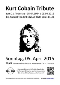 Kurt Cobain Live Tribute zum 21. Todestag@phil