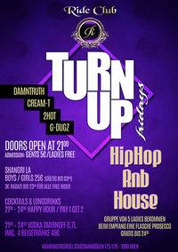 Turn Up Fridays@Ride Club